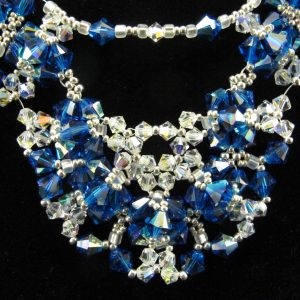 Capri Blue Swarovski Crystal Necklace