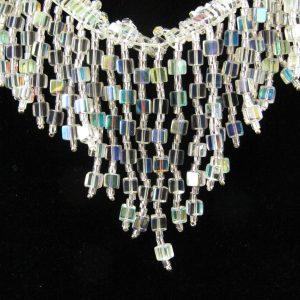 Cascading Cube Necklace