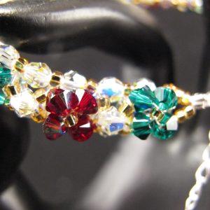 Swarovski Christmas Flowers Bracelet
