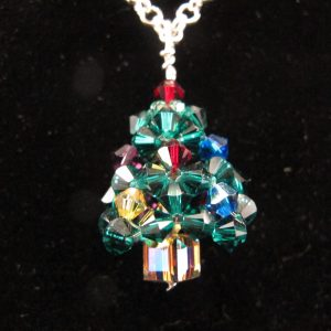 3-D Christmas Tree Pendant