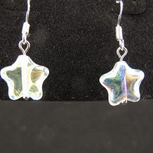 Crystal AB Star Earrings