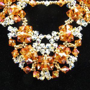 Swarovski 'Astral Pink' Crystal Necklace