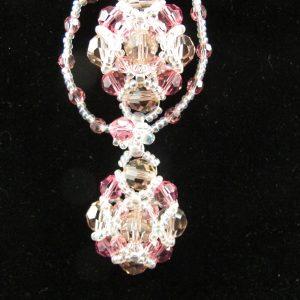 Swarovski Pink Shades Necklace