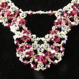 Swarovski 'Fuchsia' Crystal Necklace