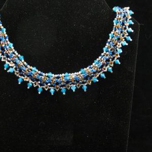 Swarovski Crystals Egyptian Collar