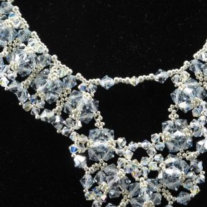 Swarovski 'Smoke' Crystal Necklace
